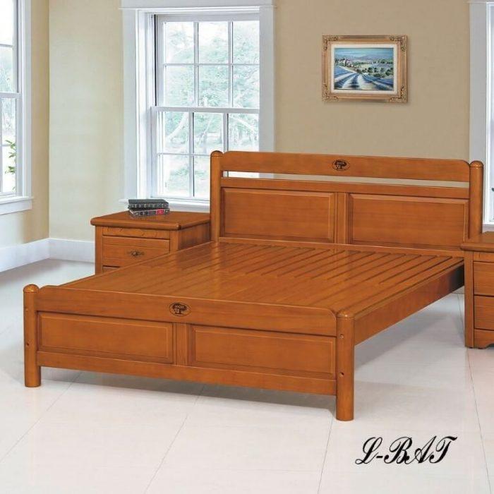 艾爾木質床架