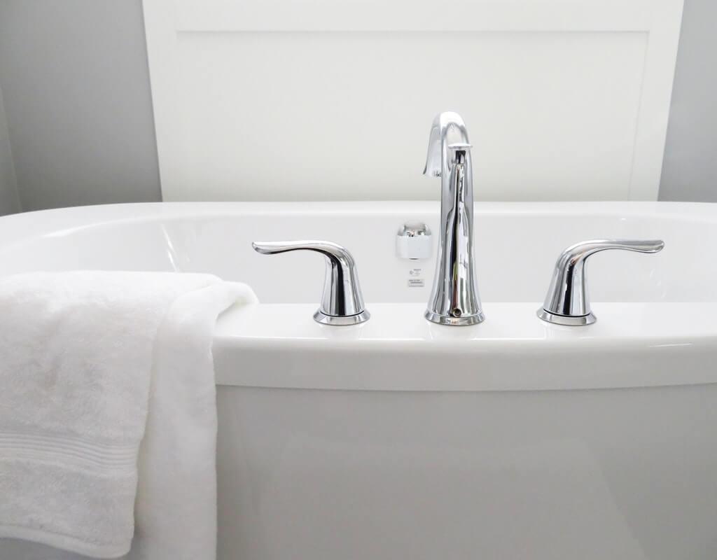 獨立浴缸示意