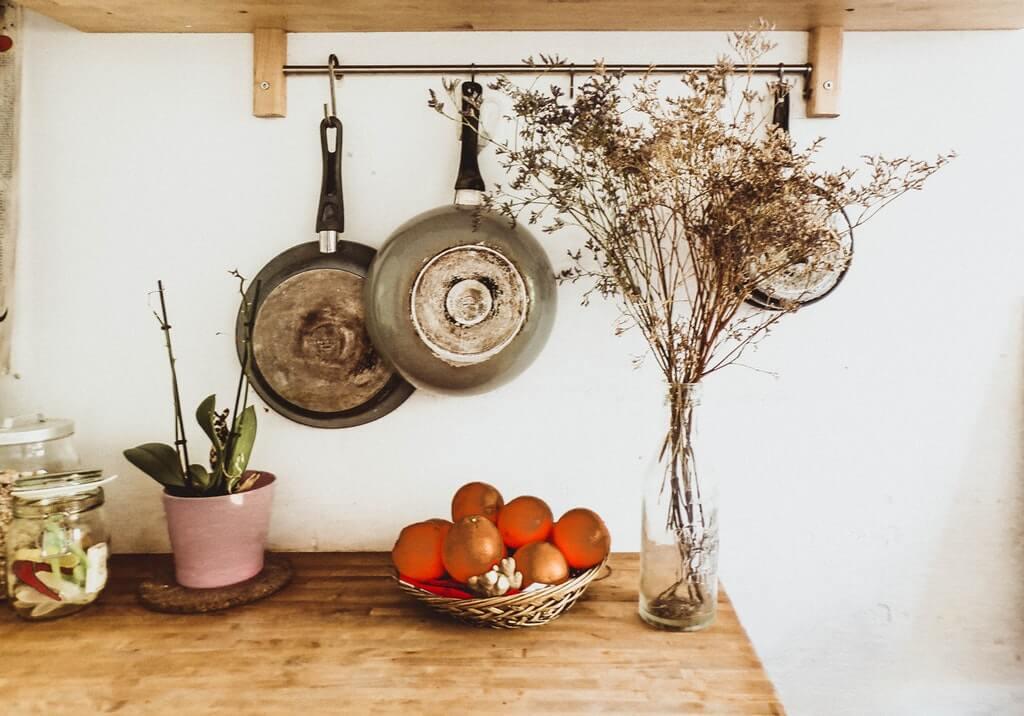 整齊的廚房