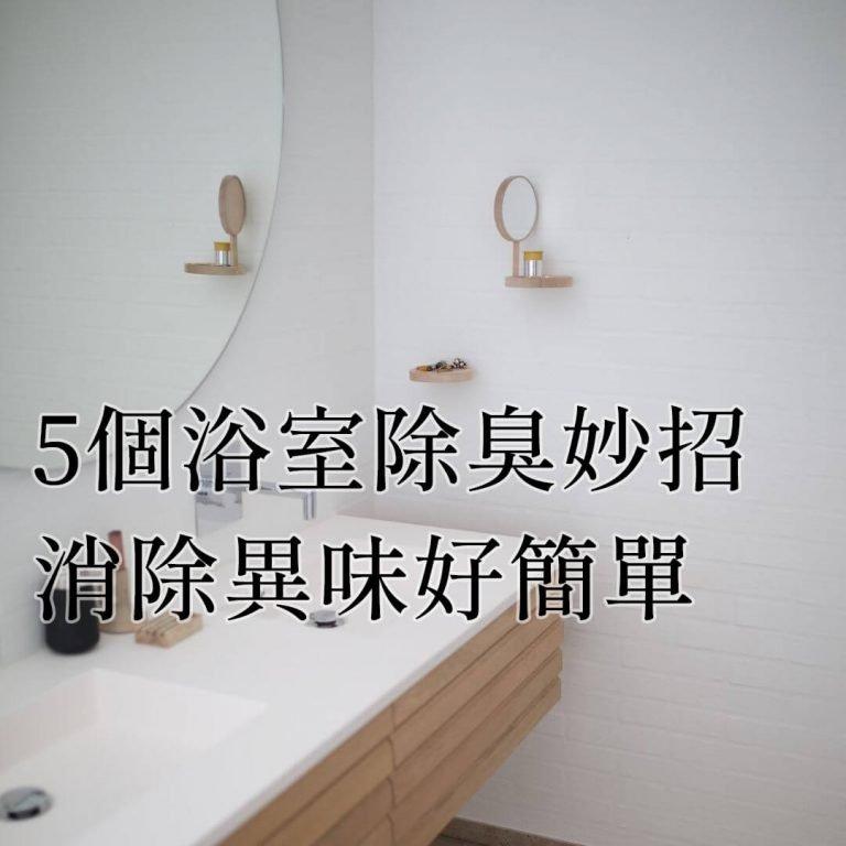【居家小知識】5個廁所除臭妙招推薦!消除異味好簡單!讓你廁所蹲到不想出來